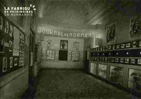 """Hall d'Information du """"""""Journal de Normandie"""""""""""
