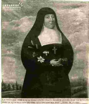 Mère Jeanne-Marguerite Chauv-I ère sup du Monastère