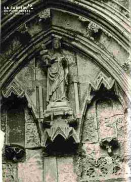 Vierge de porche