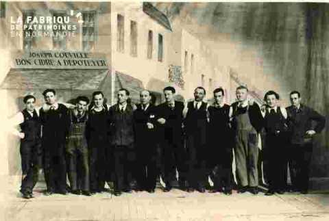 Les participants masculins
