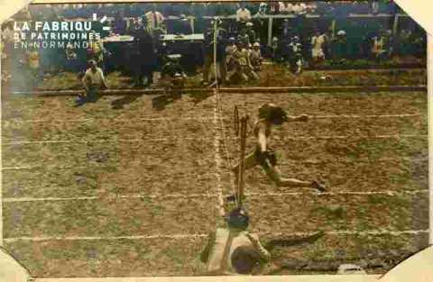 Championnats d'Athlétisme-Course de haies -Cavelier-1935