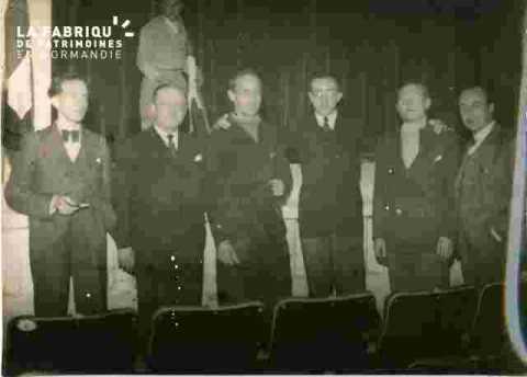 Cinéma Normandie-Le rideau de fer