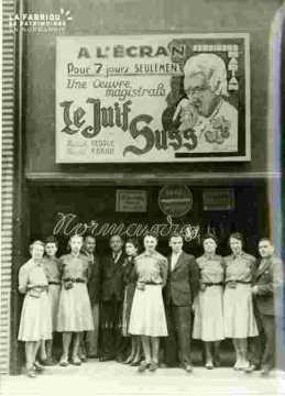 Cinéma Normandie-Le Juif Suss à l'affiche