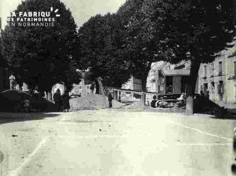 aménag entrée souter pl du sepulcre pour poste 1er secours oct 1939