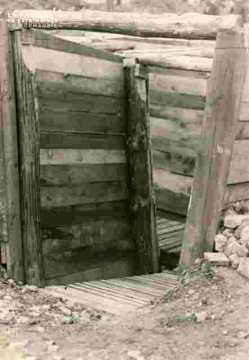 creusement tranchées place Saint Gilles sept 1939