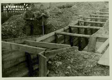 entrée souterrain place du sepulcre nov 1939