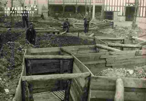 tranchées place Gambetta 10 sept 1939
