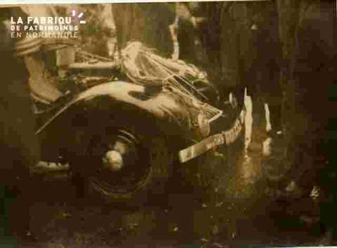 Accident-voiture endommagée