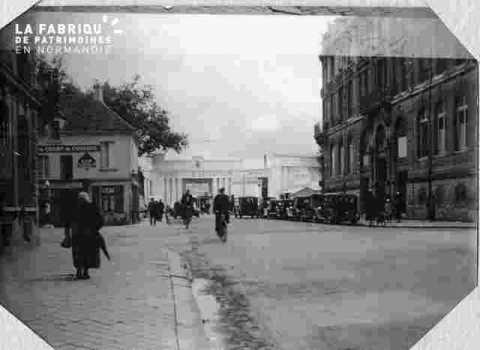 Entrée de la foire -rue Sady-Carnot
