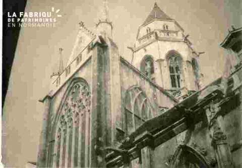 Saint Etienne le vieux et maison attenante disparue