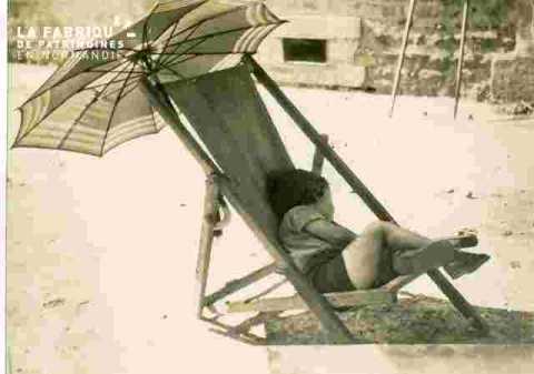 Alain dort  en chaise longue