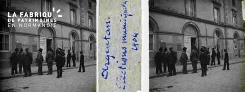 Argentan, élections municipales en 1904