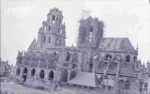 Reconstruction de l'église Saint-Germain à Argentan