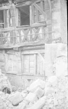 Les ruines d'Argentan