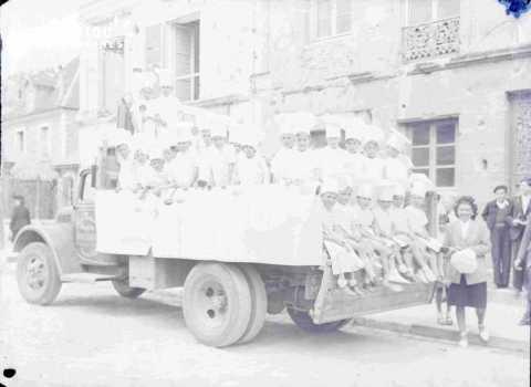 Argentan camion de l'entreprise Robillard