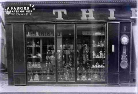 Argentan devanture de la bijouterie Thierry 59 rue du Beigle