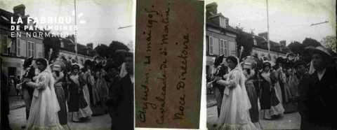 Argentan 21 mai 1905 Calvacade de Saint-Martin Noce directoire