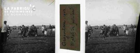 Argentan 1903 match de football