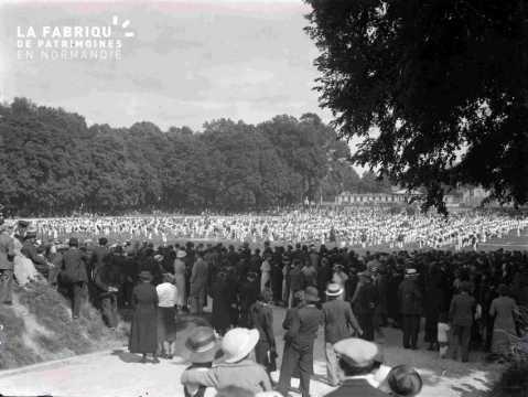 Argentan fêtes gymnastiques 1937 champ de foire
