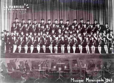 Argentan musique municipale 1967