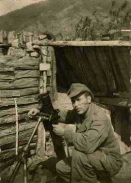 Portrait d'un soldat français