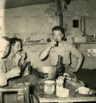 Repas de soldat français