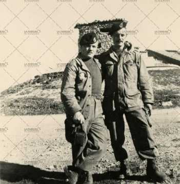 Portrait de soldats français