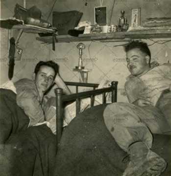 Chambre de soldats