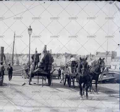 Cherbourg, au début du XXe siècle