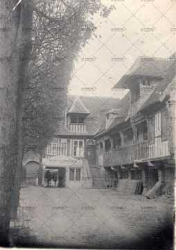 Rouen, maisons à pans de bois