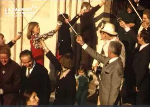 1973, mariage près de Bayeux