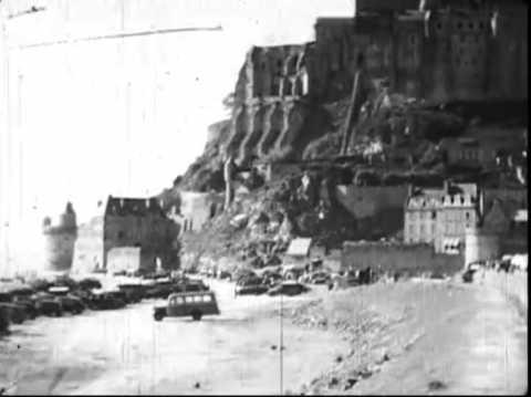 Mont-Saint-Michel (Le), années cinquante