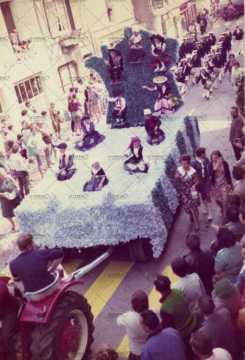 Cavalcade à Ouistreham en 1971