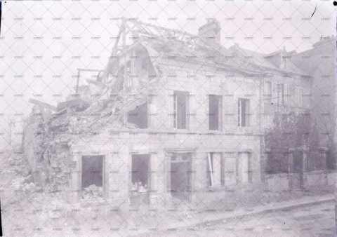 Caen en ruines, 15 rue Sainte-Anne
