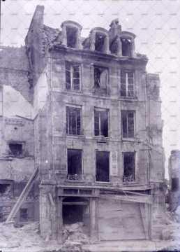 Caen en ruines, 11 rue de Vaucelles