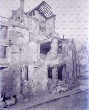 Caen en ruines, 9 rue de l'Eglise Saint-Julien