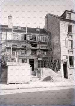 Caen en ruines, 10 rue Saint-Martin