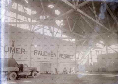 Carpiquet - aérodrome, hangar Boussiron