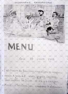 Dessin, menu
