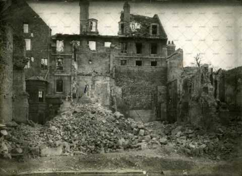Caen en ruines, 32 rue Guilbert