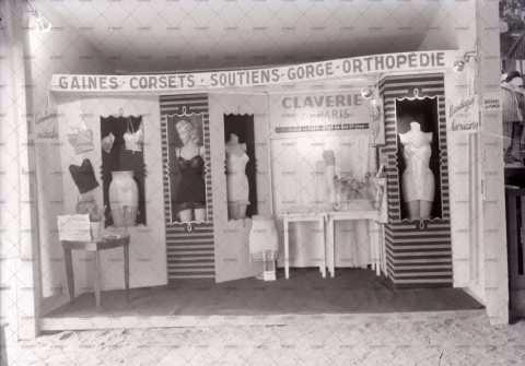 Stand d'un magasin de sous-vêtements