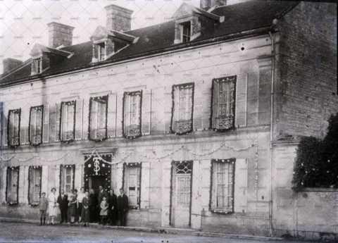 Maison décorée à Caen