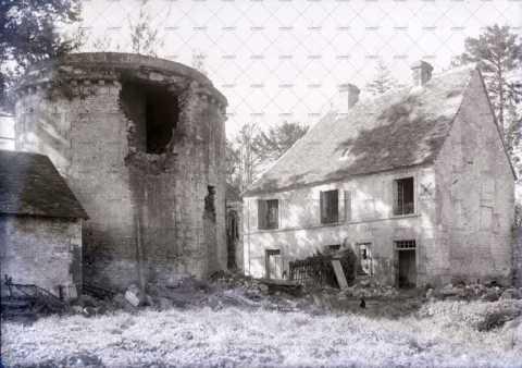 Ruines d'un manoir