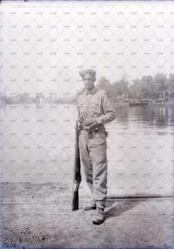 Portrait d'un soldat britannique