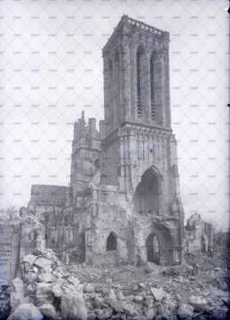 Caen en ruines