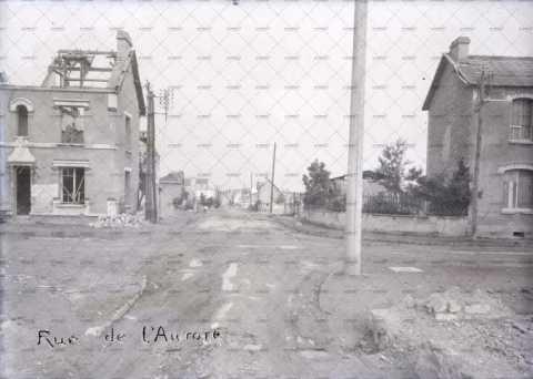 Caen en ruines, 14 rue de l'Aurore