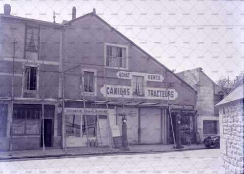 Caen, commerces reconstruits