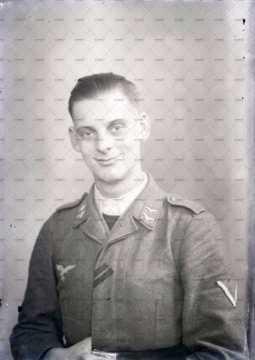 Portrait d'un soldat allemand