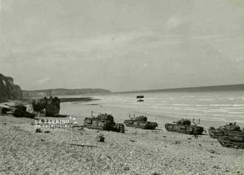Le 19 août 1942, l'opération Jubilee, raid de Dieppe