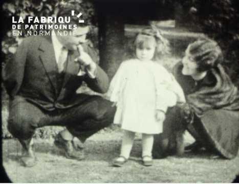 Famille aisée, les années vingt dans la Manche et les Yvelines